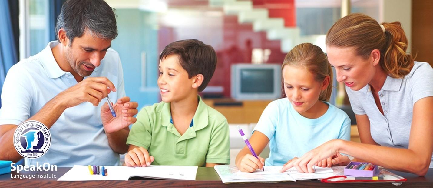 بنر نکات آموزشی والدین به کودکان آموزشگاه زبان اسپیکان