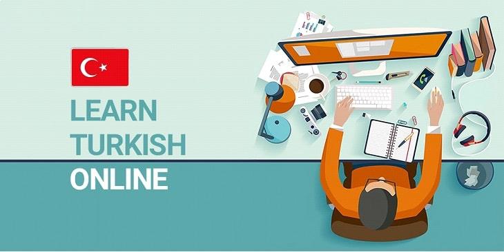 بنر آموزش مجازی زبان ترکی استانبولی