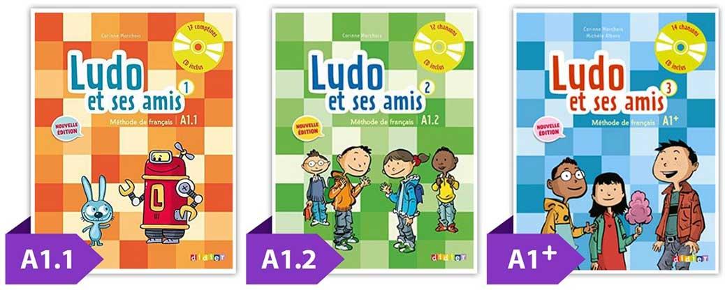 تصویر کتاب ludo آموزشگاه زبان فرانسه کودکان