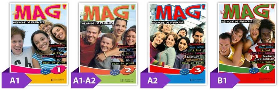کتاب le mag آموزش فرانسه نوجوانان