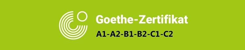 لوگوی مدرک زبان آلمانی Goethe